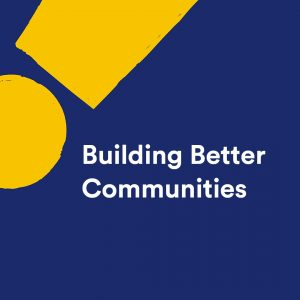 Building better communities